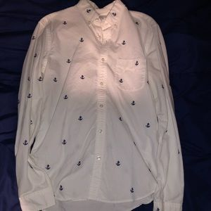 J. Crew slim fit lightweight oxford shirt
